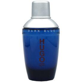 ヒューゴ ボス HUGO BOSS ダーク ブルー EDT SP 75ml【訳あり・テスター・未使用品】DARK BLUE EAU DE TOILETTE【あす楽対応_お休み中】【香水 メンズ】