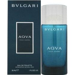 ブルガリ BVLGARI アクア プールオム EDT SP 30ml 【あす楽対応_14時まで】 【香水 メンズ】【EARTH】【父の日 ギフト】【新生活 印象】