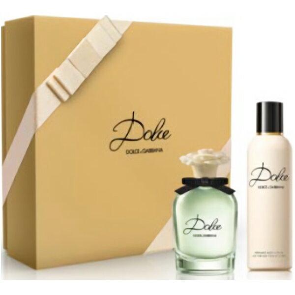 【ドルチェ&ガッバーナ】 ドルチェ オードパルファム ギフトセット(EDP50ml + ボディローション100ml)Dolce & Gabbana Dolce Eau De Parfum Gift Set【あす楽対応_14時まで】【香水 レディース】