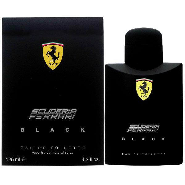 フェラーリ FERRARI フェラーリ ブラック EDT SP 125ml【あす楽対応_14時まで】【香水 メンズ レディース】【EARTH】【新生活 印象】