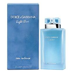 ドルチェ&ガッバーナ Dolce&Gabbana ライトブルー オーインテンス EDP SP 25ml D&G Light Blue Eau Intense【あす楽対応_お休み中】【香水】【EARTH】