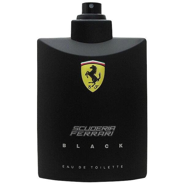 【訳あり】フェラーリ FERRARI フェラーリ ブラック EDT SP 125ml 【テスター・未使用品】【香水 メンズ レディース】【クリスマス ギフト プレゼント】