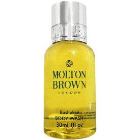 【モルトンブラウン】 ブシュカン ボディウォッシュ 30ml Molton Brown Bushukan Body Wash【あす楽対応_お休み中】【香水 メンズ レディース】【香水 人気 ブランド ギフト 誕生日】