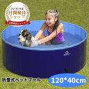 \限定半額/ペットプール 120*40 犬用プール 犬 プール ペット用 プール ペットプール プール ペット用