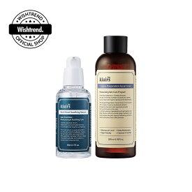 【クレアス】ベージックスージングセットー2stepシンプルセット|韓国コスメ・フェイシャルトナー・スージングセラム・水分ケア・保湿ケア・乾燥肌・乾燥対策・敏感肌・オイリー肌|[dear,klairs] Basic Soothing SET