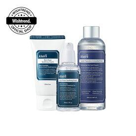 【クレアス】リッチモイスト3stepセット(アンセンテッドトナーver)−3stepシンプルセット|韓国コスメ・クレアストナー・スージング・水分ケア・乾燥肌・乾燥対策・敏感肌・韓国コスメセット・スキンケアセット|[dear,klairs] Rich Moist 3step SET