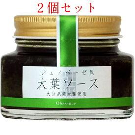 田中醤油 ジェノベーゼ風 大葉ソース 100g×2個セット