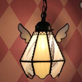 ペンダントライト 【Easter Egg Gelb・イースターエッグ ゲルブ】 LED対応 エッグ ステンドグラス ランプ
