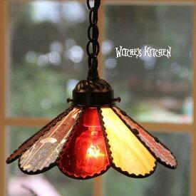 ステンドグラス ランプ ペンダントライト 【Marguerite・マーガレット】 LED対応 ドット