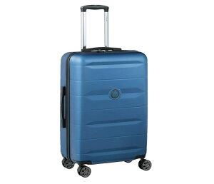 DELSEY デルセー スーツケース 機内持ち込み Mサイズ LIGHT BLUE 小型 キャリーケース Mサイズ中型/Lサイズ大型 ABS&PC素材 超軽量 TSAロック搭載 COMETE