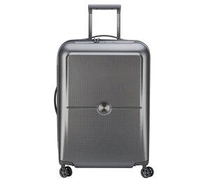 DELSEY デルセー スーツケース キャリーケース Mサイズ SILVER ハード キャリーバッグ 機内持ち込みサイズ/mサイズ/lサイズ TURENNE