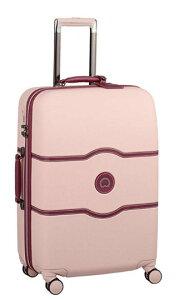 【送料無料】DELSEY(デルセー)CHATELET HARD+(シャトレハードプラス)スーツケース キャリーバッグ キャリーケース ピンク Mサイズ 中型 約67×45.5×28cm 収納袋付属【10年国際保証】