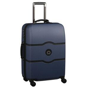 【送料無料】DELSEY(デルセー)CHATELET HARD+(シャトレハードプラス)スーツケース キャリーバッグ キャリーケース 青 紺色 コバルト ブルー Mサイズ 中型 約67×45.5×28cm 収納袋付属【10年国際