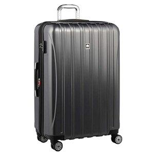 【送料無料】DELSEY (デルセー) スーツケース HELIUM AERO (ヘリウムエアロ) スーツケース キャリーケース ハードキャリーケース キャリーバッグ 灰色 グレー Lサイズ 大型 鏡面加工 軽量化