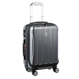 【送料無料】DELSEY (デルセー) スーツケース HELIUM AERO (ヘリウムエアロ) スーツケース キャリーケース ハードキャリーケース キャリーバッグ 灰色 グレー Sサイズ 小型 42L 鏡面加工 軽量