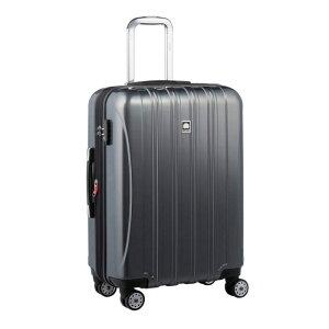 【送料無料】DELSEY (デルセー) スーツケース HELIUM AERO (ヘリウムエアロ) スーツケース キャリーケース ハードキャリーケース キャリーバッグ 灰色 グレー Mサイズ 中型 79L 鏡面加工 軽量
