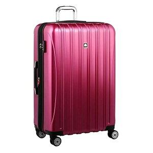 【送料無料】DELSEY (デルセー) スーツケース HELIUM AERO (ヘリウムエアロ) スーツケース キャリーケース ハードキャリーケース キャリーバッグ 紫 パープル Lサイズ 大型 117L 鏡面加工 軽量