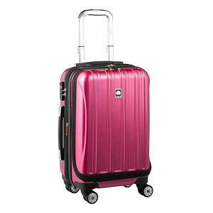【送料無料】DELSEY (デルセー) スーツケース HELIUM AERO (ヘリウムエアロ) スーツケース キャリーケース ハードキャリーケース キャリーバッグ 紫 パープル Sサイズ 小型 42L 鏡面加工 軽量
