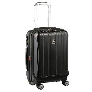 【送料無料】DELSEY (デルセー) スーツケース HELIUM AERO (ヘリウムエアロ) スーツケース キャリーケース ハードキャリーケース キャリーバッグ 黒 ブラック Sサイズ 小型 42L 鏡面加工 軽量
