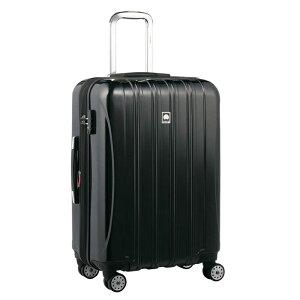 【送料無料】DELSEY (デルセー) スーツケース HELIUM AERO (ヘリウムエアロ) スーツケース キャリーケース ハードキャリーケース キャリーバッグ 黒 ブラック Mサイズ 中型 79L 鏡面加工 軽量