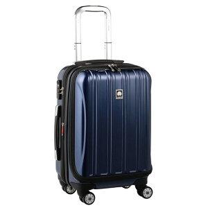 【送料無料】DELSEY (デルセー) スーツケース HELIUM AERO (ヘリウムエアロ) スーツケース キャリーケース ハードキャリーケース キャリーバッグ 青 ブルー Sサイズ 小型 42L 鏡面加工 軽量化