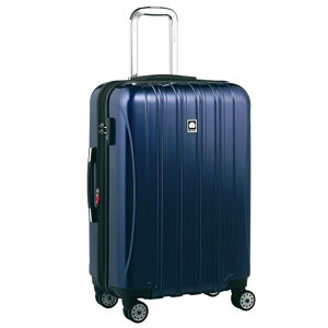 【送料無料】DELSEY (デルセー) スーツケース HELIUM AERO (ヘリウムエアロ) スーツケース キャリーケース ハードキャリーケース キャリーバッグ 青 ブルー Mサイズ 中型 79L 鏡面加工 軽量化