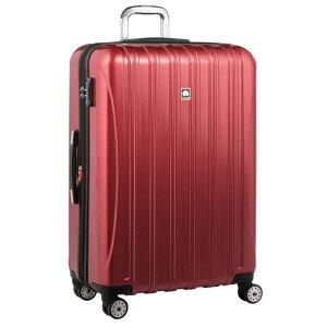 【送料無料】DELSEY (デルセー) スーツケース HELIUM AERO (ヘリウムエアロ) スーツケース キャリーケース ハードキャリーケース キャリーバッグ 赤 レッド Lサイズ 大型 117L 鏡面加工 軽量化