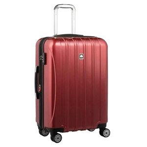 【送料無料】DELSEY (デルセー) スーツケース HELIUM AERO (ヘリウムエアロ) スーツケース キャリーケース ハードキャリーケース キャリーバッグ 赤 レッド Mサイズ 中型 79L 鏡面加工 軽量化