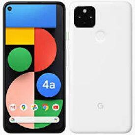 【新品 未使用】 Google Pixel 4a 128GB SIMフリー 5G対応 本体 G025H 正規SIMロック解除済み Clearly White ホワイト 白ロム 一括購入品 赤ロム永久保証 Pixel4a