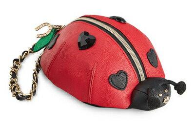 ベッツィージョンソン Betsey Johnson コインケースLadybug Wristlet(Red)レディーバグ リストレット (レッド) テントウ虫 レディース 小銭入れ 新作 正規品 日本未入荷 アメリカ買付 海外通販