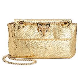 ベッツィージョンソン クロスボディバッグ Betsey Johnson BJ98450MSLITHER AND SHINE CROSSBODY (Gold Snake/Gold) スリザー アンド シャイン クロスボディ (ゴールドスネーク/ゴールド)