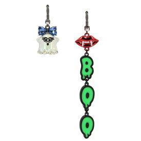 ベッツィージョンソン ピアス Betsey JohnsonBoo Mismatch Linear Earrings (Multi) ミスマッチ リニア ピアス (マルチ)