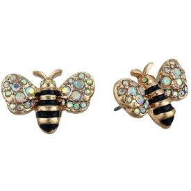ベッツィージョンソン ピアス Betsey Johnson Bumble Bee Stud Earrings (Yellow) バンブル ビー スタッドピアス (イエロー) Bee Stud Earrings