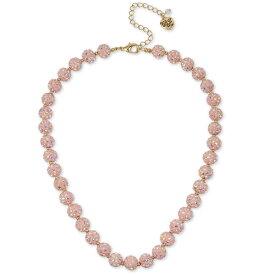 ベッツィージョンソン ネックレス Betsey Johnson Pave Fireball Collar Necklace (Pink) パヴェ ファイヤーボール カラー ネックレス (ピンク)