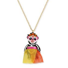 ベッツィージョンソン ネックレス Betsey Johnson 282573BETSEYVILLA SKELETON BEAR PENDANT (Multi) スケルトン ベアー ペンダント (マルチ) Sugar Skull Bear Pendant Necklace