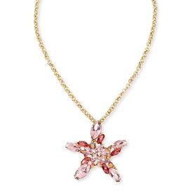 ベッツィージョンソン ネックレス Betsey Johnson 300576SURFMAID STARFISH PENDANT (Pink) スターフィッシュ ペンダント (ピンク) Crystal Cluster Starfish Pendant Necklace