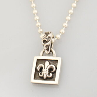 44d6e1c6f069 witusa  Chrome hearts necklace framed BS flare charm Framed Bs Fleur Charm authentic  genuine American purchase USA imported from
