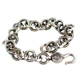 【Chrome Hearts】 クロムハーツ ブレスレット#1シングルBリングブレスレット#1 Single B Ring Bracelet本物 正規品 アメリカ買付 USA直輸入