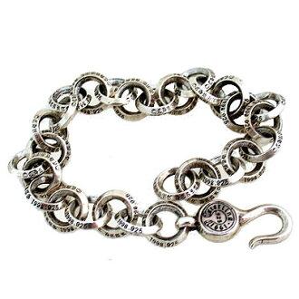 크롬 하트 팔찌 #1シングルBリングブレスレット # 1 Single B Ring Bracelet 진짜 정품 미국 구매 USA 직 수입