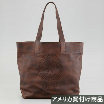 FRYE フライ トートバッグ Skull Leather Tote(メープル) 新作 正規品 アメリカ買付 USA直輸入