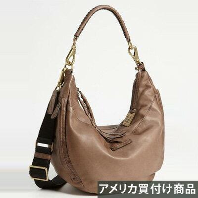 FRYE フライ ホーボーバッグ Jenny Leather Hobo(グレー) 新作 正規品 アメリカ買付 USA直輸入