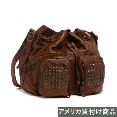 FRYE フライ ショルダーバッグBrooke Drawstring Shoulder Bag Medium (Brown)ブルックドローストリングショルダーバッグ(ブラウン)新作 正規品 アメリカ買付 USA直輸入