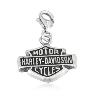 ハーレーダビッドソン Harley Davidsonダブルサイド バー&シールド チャームSterling Silver Double Sided Bar & Shield Charmハーレー純正 正規品 アメリカ買付 USA直輸入 通販