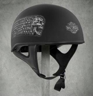 하레이다빗드손 Harley Davidson 하프 헬멧 Laxity Low Profile J01 Half Helmet 매트 블랙 신작 할레-순정 정규품 미국 구매 USA 직수입 통판