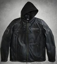 ハーレーダビッドソン Harley Davidson メンズ レザー ジャケットMen's Auroral 3-in-1 Leather Jacket革ジャン 新作 ハーレー純正 正規品 アメリカ買付 USA直輸入 通販