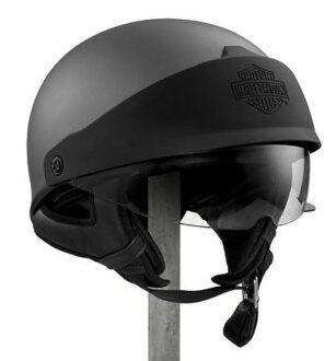 Harley-Davidson Harley Davidson半安全帽Roam Adjastable Fit Profile J06 Half Helmet木炭新作品哈雷純正正規的物品美國購置USA直接進口郵購
