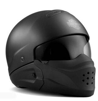 하레이다빗드손 Harley Davidson 하프 헬멧 Pilot 3-in-1 X04 Helmet Helmet 매트 블랙 신작 할레-순정 정규품 미국 구매 USA 직수입 통판