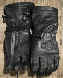 Harley-Davidson Harley Davidson globe Men's Circuit Waterproof Gauntlet Gloves ★ new Harley stock genuine American purchase USA imported from store