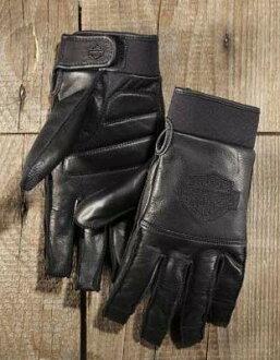 Harley Davidson Harley Davidson globe Men's Value Full-Finger Gloves-2015 new Harley stock genuine American purchase USA imported from store