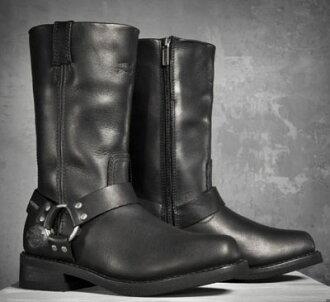 하레이다빗드손 Harley Davidson 맨즈 부츠 Men's Hustin Waterproof Performance Boots 블랙 신작 할레-순정 정규품 미국 구매 USA 직수입 통판
